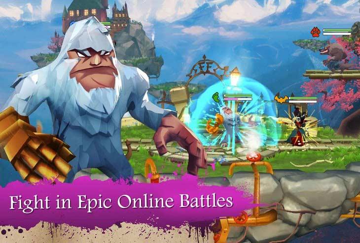 Бесплатный онлайн-файтинг Fright Fight – Online Brawler для Android