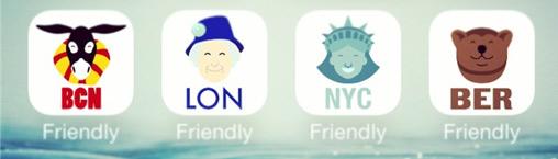приложения Friendly city
