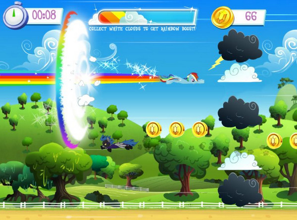 Фото 3 новости Построй свой Понивилль с игрой MyLittlePony для Android, iPhone и iPad