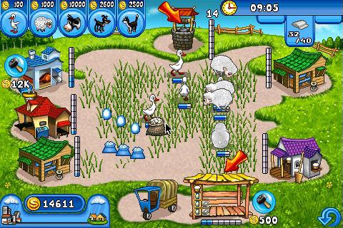 игра веселая ферма