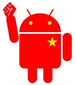 Android доминирует в Китае с 90% долей рынка