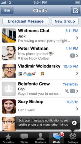 Скачать бесплатно WhatsApp Messenger на iPhone