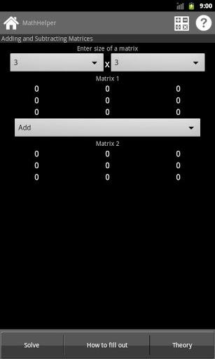 Math Helper для Android решит математические задачи