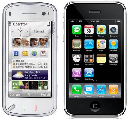 iPhone и Nokia не теряют доверия россиян