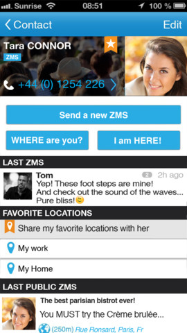 ZMS ��� Android � iOS ������� SMS � ������ ����� � ������ �����