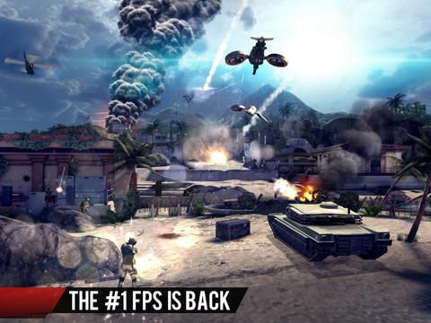 Modern Combat 4: Zero Hour для iPhone и iPad уже можно скачать в App Store
