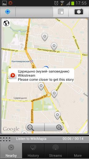 Мобильные GPS-путеводители Toozla