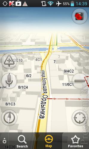 Яндекс.Навигатор для iPhone и Android - обновление, офлайн-карты, кэш, 3D-режим