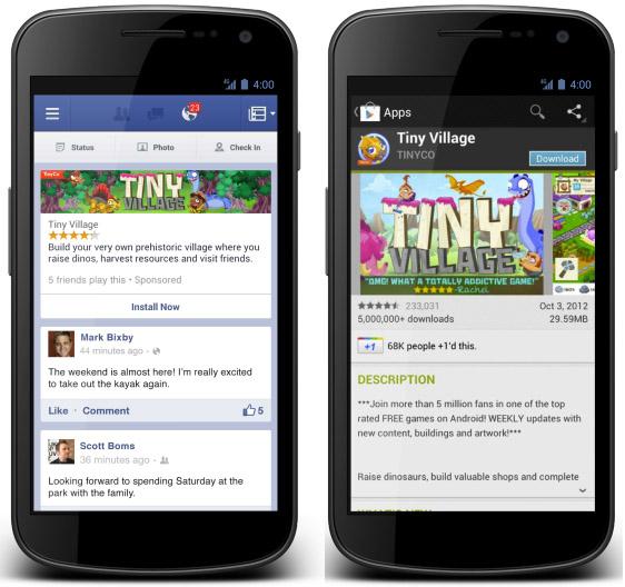 Facebook отказался от мобильной рекламы в сторонних iOS и Android-приложениях