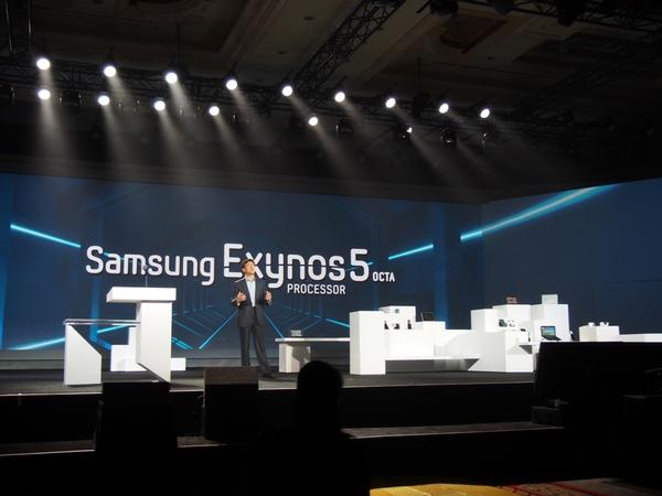 CES 2013 8-ядерный процессор Samsung Exynos 5 Octa для смартфонов и планшетов
