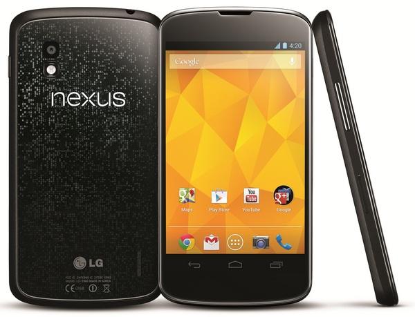 Nexus 4 можно купить официально в России по цене 19 990 рублей