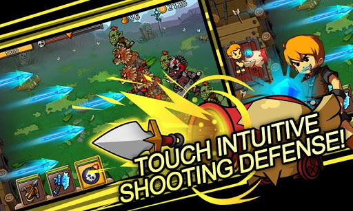 Яростные осады замков в Android-игре Colosseum Defense
