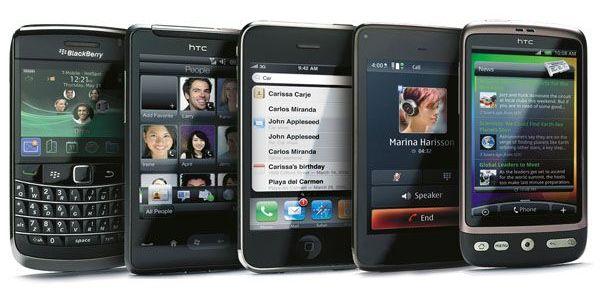 Доля iPhone на рынке смартфонов достигнет пиковых 22% в 2013 году