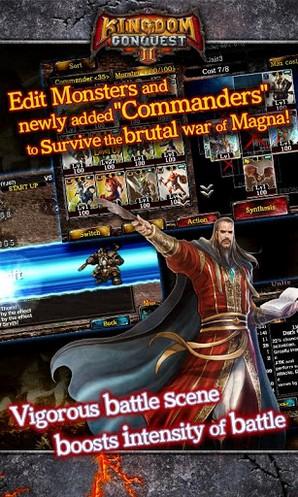 Бесплатную RPG-игру Kingdom Conquest II для Android выпустила Sega