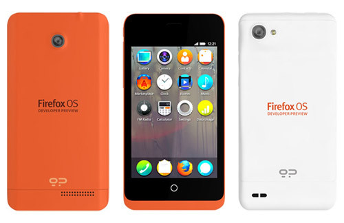 Mozilla показала первые смартфоны на Firefox OS - Keon и Peak