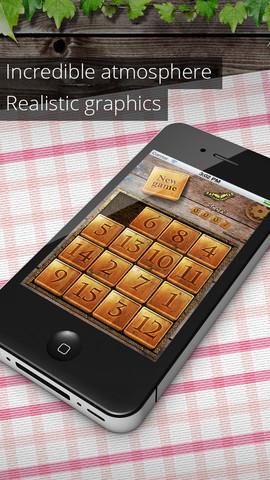 Garden Puzzle для iPhone – «Пятнашки» на природе