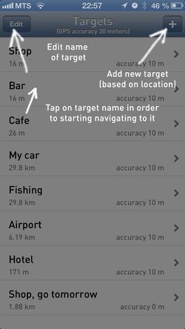 iLost – экономичный виртуальный компас для iPhone