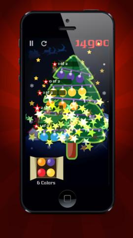 Игра Light Up Christmas Tree для iPhone – взрываем елочные гирлянды