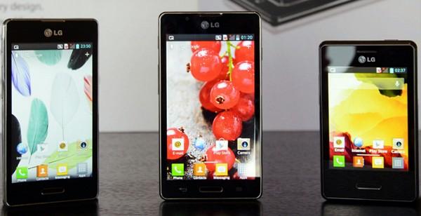 LG Optimus L II - новое семейство Android-смартфонов