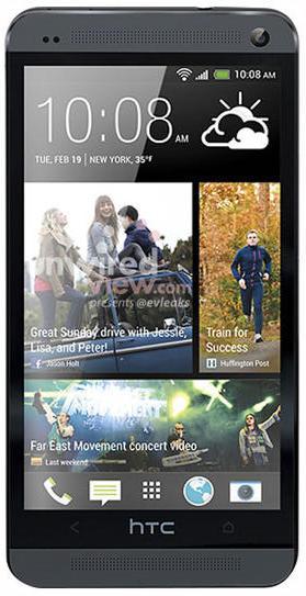 Шпионское фото и дата выхода флагмана HTC One в черном цвете