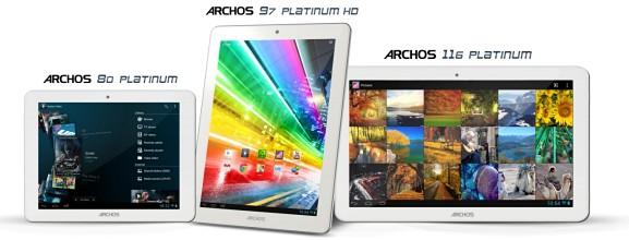 Три четырехъядерных клона iPad с HD-дисплеями по доступной цене от ARCHOS