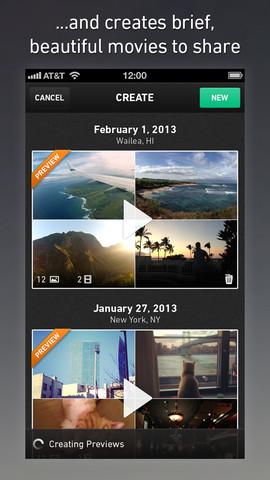 Приложение Qwiki для iPhone сделает из ваших фото и видео зрелищный клип