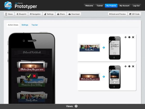AppGyver -  работающие прототипы мобильных приложений за минуты без знания кода