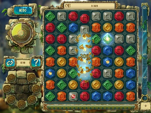 Обзор iPad-игры Сокровища Монтесумы 3 ВИДЕО