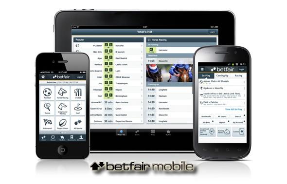 Спортивная биржа Betfair разработала новые мобильные приложения для ставок