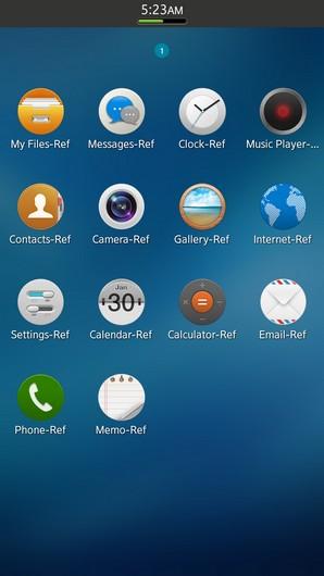 Tizen 2.0 Magnolia для смартфонов - первые скриншоты
