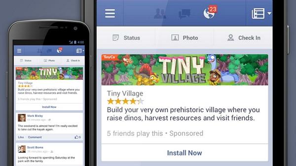Реклама мобильных приложений в Facebook с  таргетингом по версиям Android и iOS