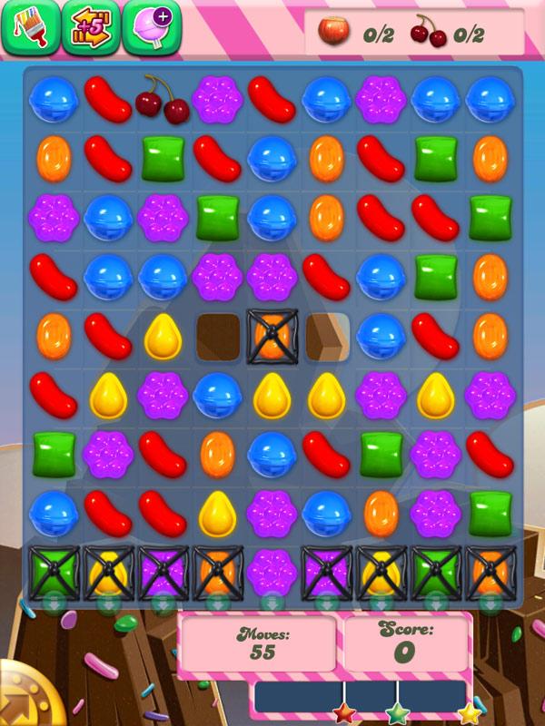 Candy Crush Saga симпатичная реализация всё тех же Lines