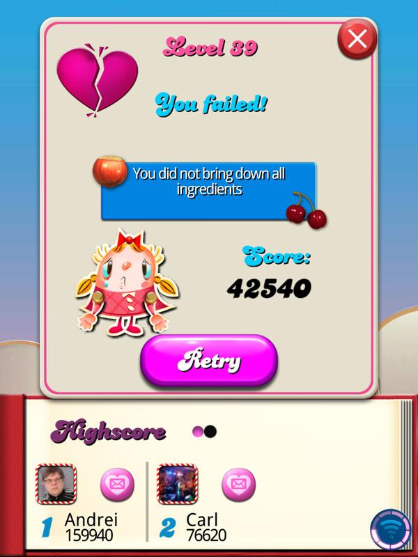 Candy Crush Saga для iPad: привет, игровые девяностые!