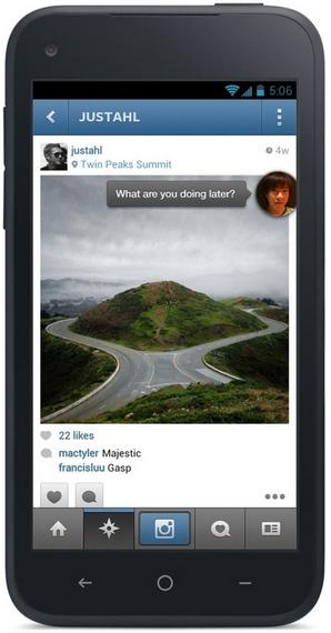 Facebook Home превратит любой Android-смартфон в девайс для людей