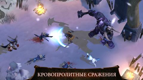 Dungeon Hunter 4 для iPhone и iPad - классическая бесплатная RPG-игра