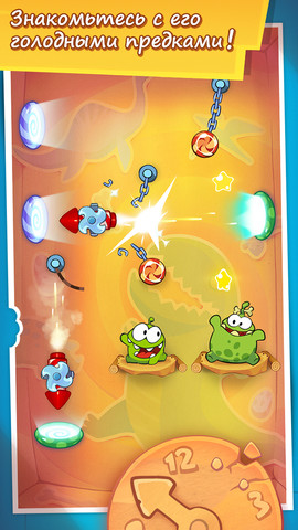 Игру Cut the Rope: Time Travel для iPhone уже можно скачать в App Store