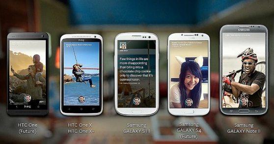 У Facebook Home для Android полмиллиона загрузок за 9 дней