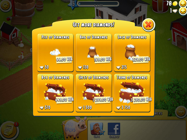 Hay Day for ipad