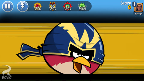 Бесплатная iOS-игра Angry Birds Friends для iPhone и iPad
