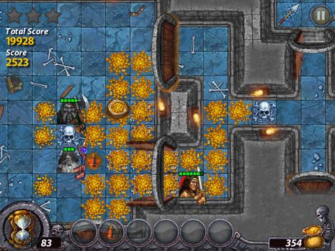 Dark Quest - олдскульная TBS с элементами RPG для iPhone и iPad