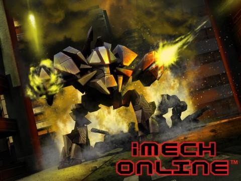 Бесплатная игра iMech Online - онлайн-битвы механоидов на iPad и iPhone