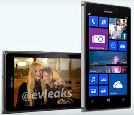 Nokia Lumia 925 на шпионских фото