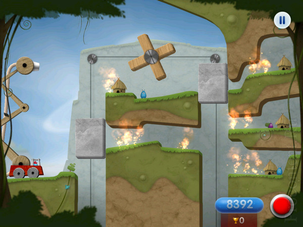 Обзор iPad-игры Sprinkle - головоломка про космических пожарных
