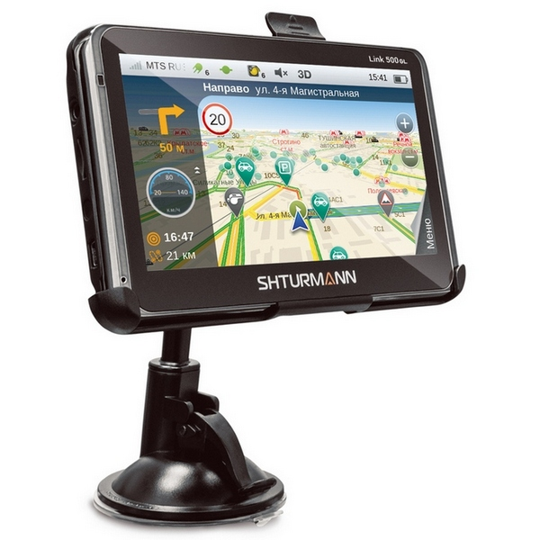 Shturmann Link 500GL - навигатор с поддержкой GPS и ГЛОНАСС