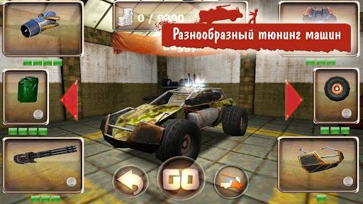 Бесплатная Android-игра Zombie Derby - апокалипсис с крутыми тачками, зомби и горячими стволами