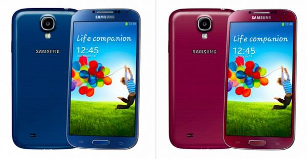 Samsung Galaxy S4 - 10 млн проданных смартфонов; новые цвета этим летом