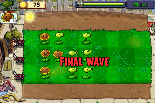 Игра Plants VS Zombies обзор