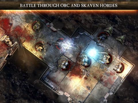 Warhammer Quest  для iPhone и iPad - первая игра из мира Warhammer для iOS