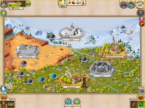 Обзор iPad-игры Империя героев - крепкий коктейль из РПГ, сити-билдера и PvP