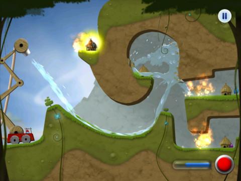 Игра Sprinkle Islands для iPhone и iPad - сиквел физической головоломки про огонь и воду